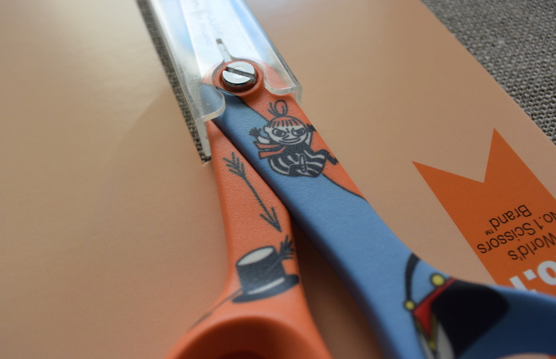 FISKARS Moomin Little My kids scissors2